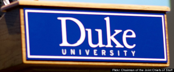 DUKE UNIVERSITY BLACKFACE