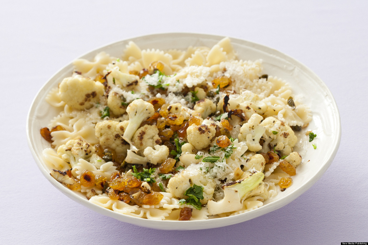 Cauliflower Pasta With Pecorino, Grated Egg, And Pine Nuts Recipes ...