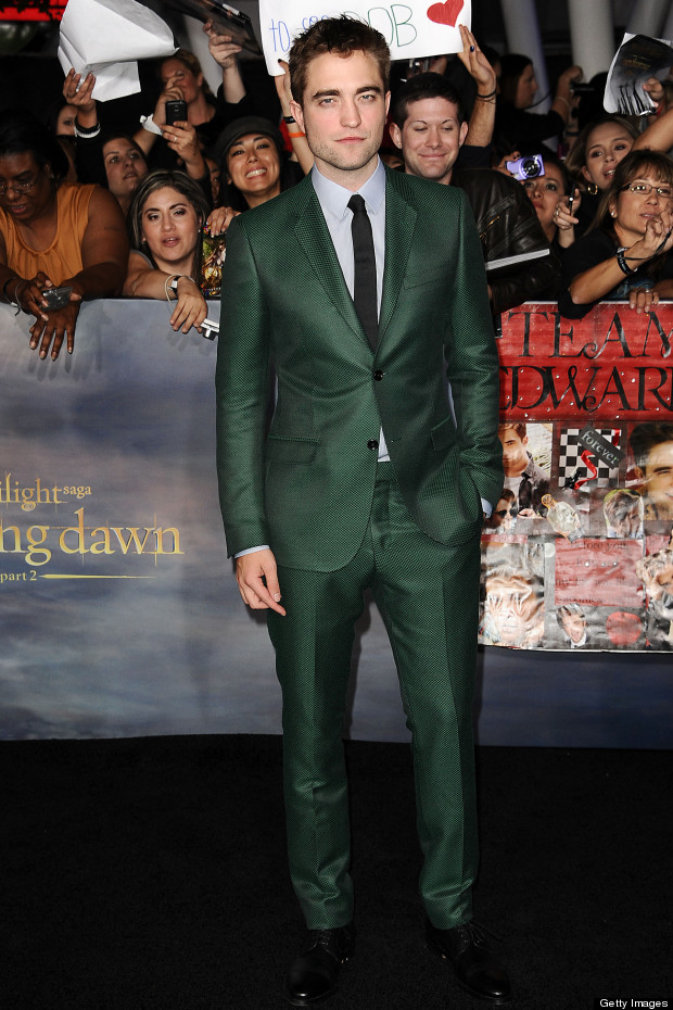 robert pattinson twilight gucci