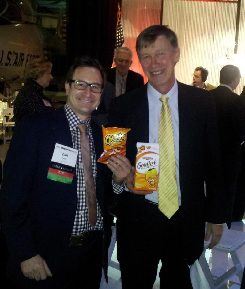 hickenlooper cheetos goldfish