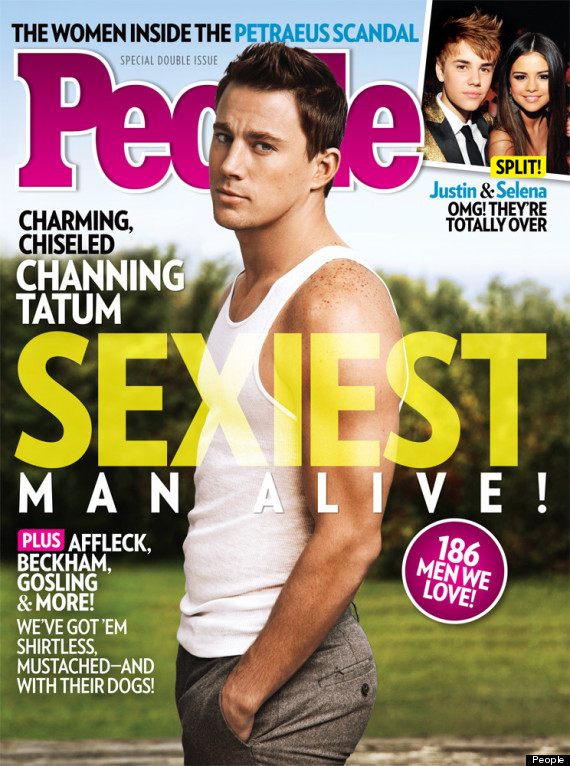 Channing Tatum 'Sexiest Man Alive': Actor Named People's 2012 'Sexiest ...