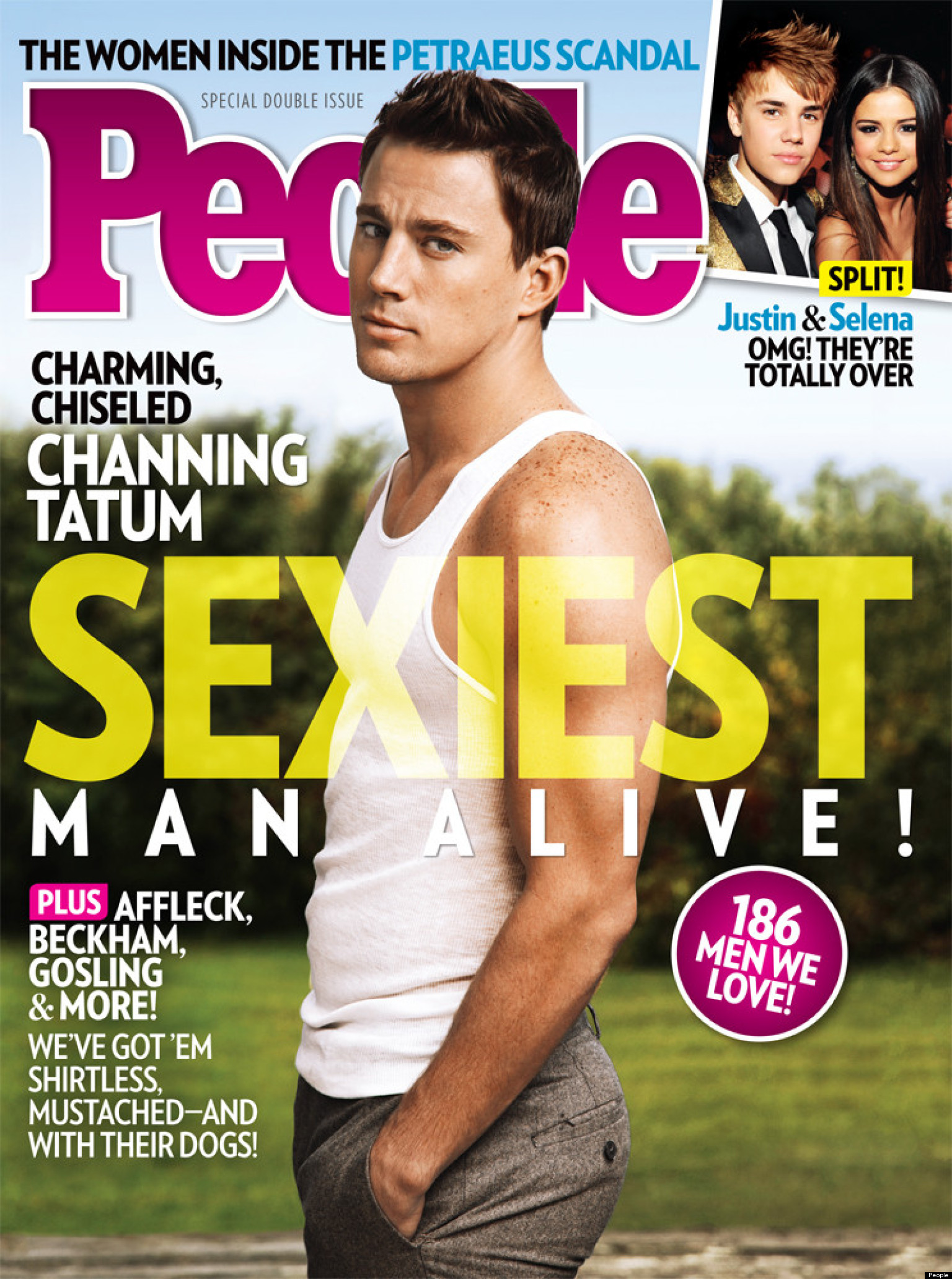 channing tatum sexiest man alive actor named peoples