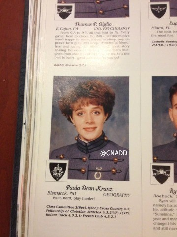 paula broadwell yearbook