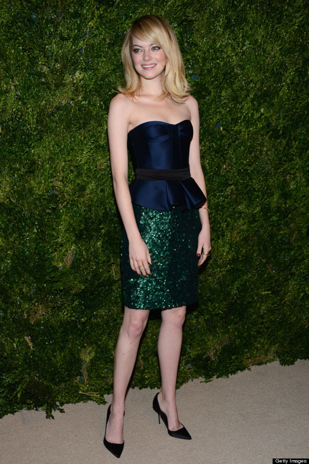 emma stone vogue fashion fund awards