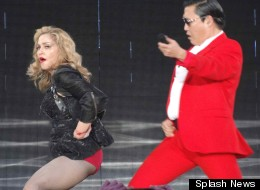 Madge Does 'Gangnam'