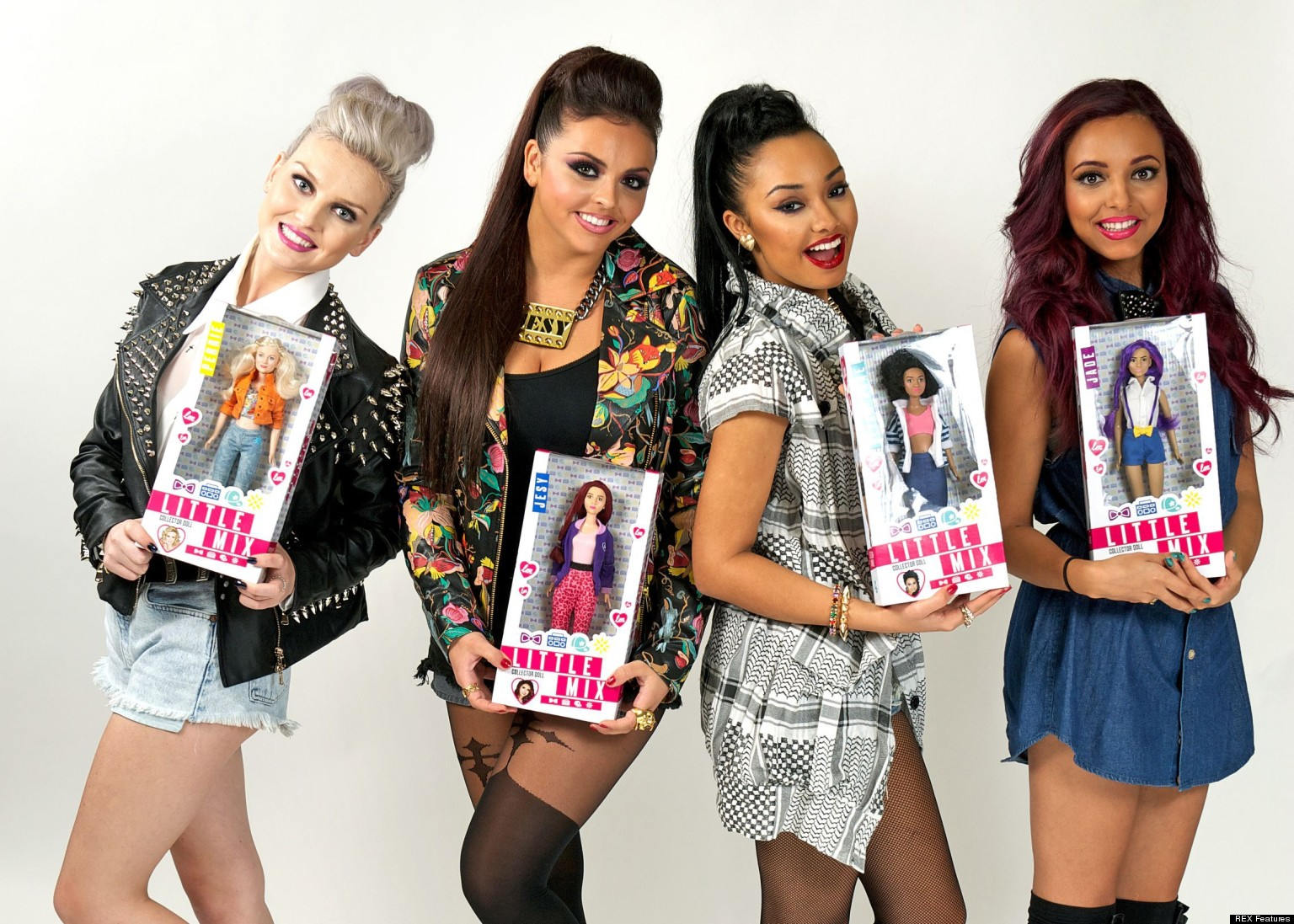 Little Mix Dolls: 'X Factor' Winners Unveil Their Plastic ...