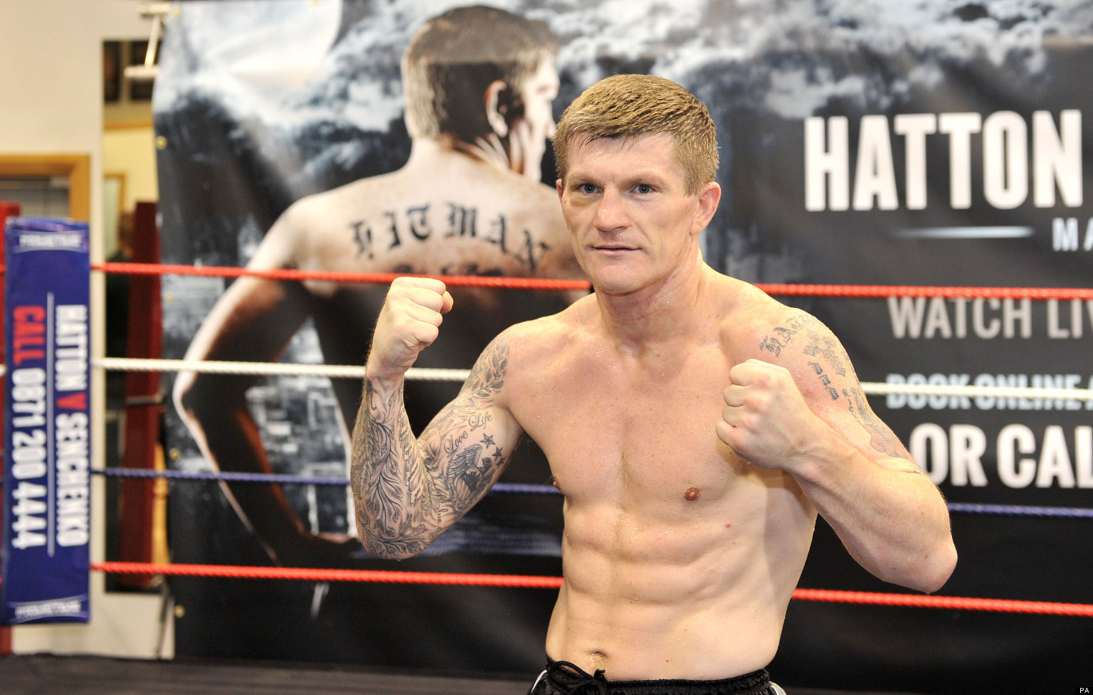 Mexican Problems Facebook Ricky Hatton Ready For...