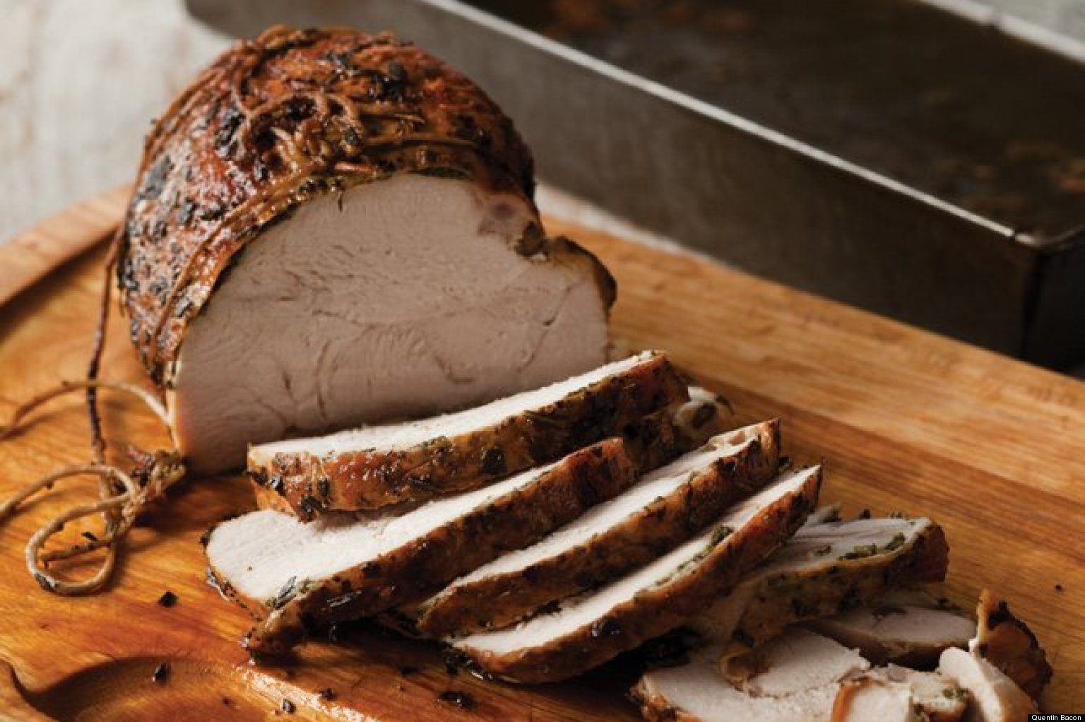 Slow-Roasted Herbed Turkey Breast