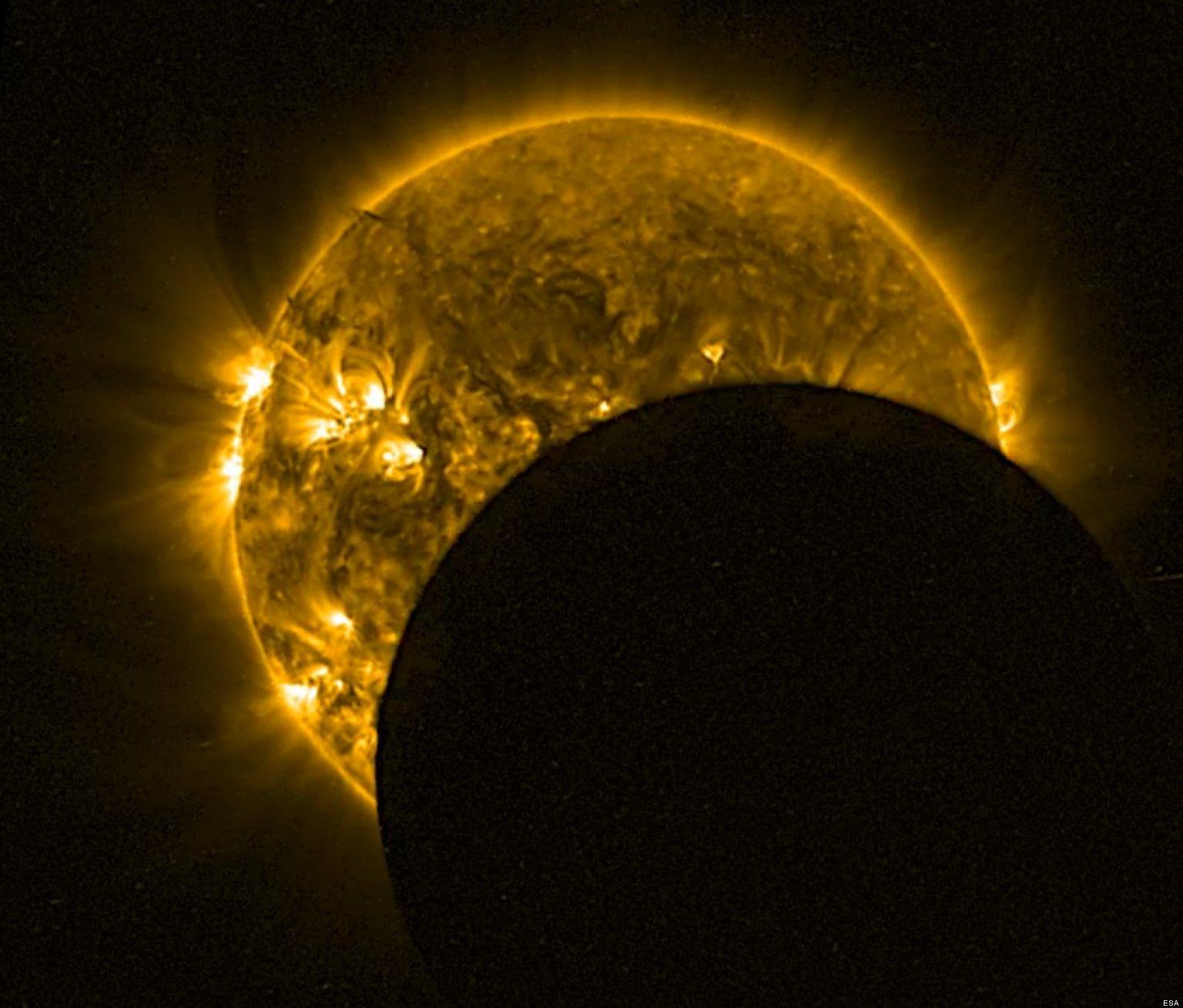 Eclipses Solares Mexico Eclipse Solar Así se Vio