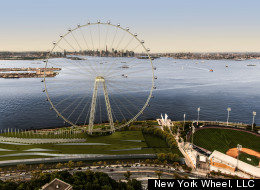 Would Giant Ferris Wheel Stand Up To Hurricane?