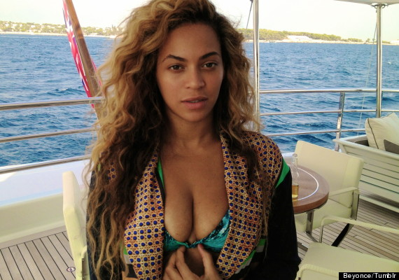 beyonce without make up