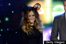 There's A Mouse In The House: Sarah Jessica Parker Sports Fashionista Mickey Ears