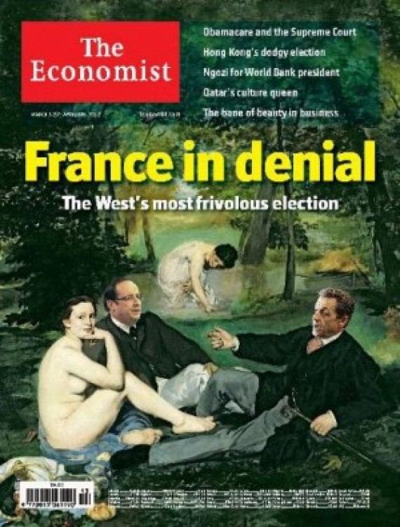 the economist denial