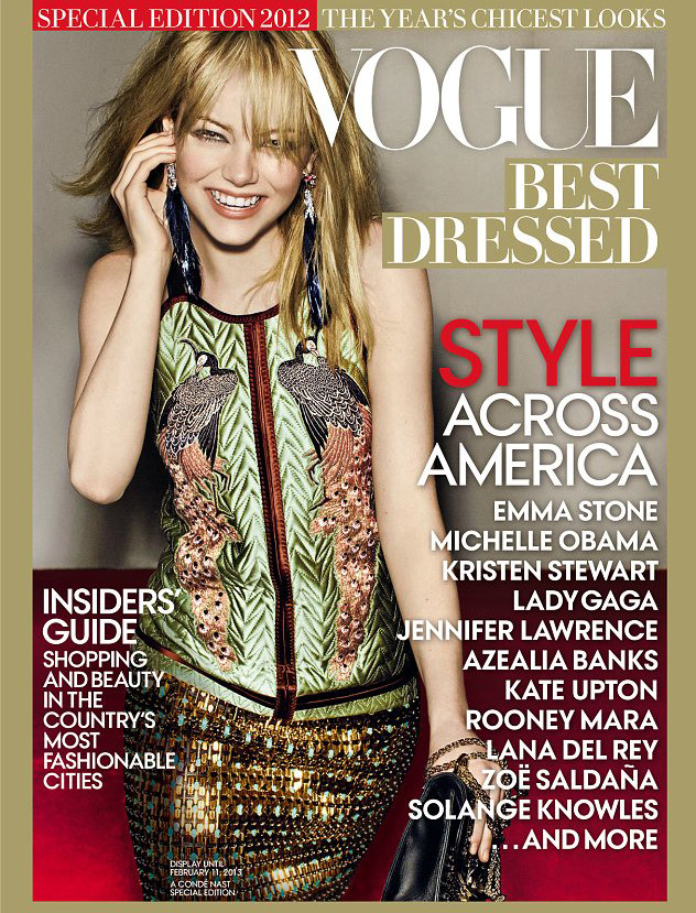 vogue best dressed 2012