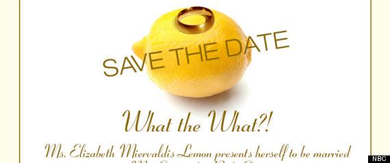 LIZ LEMON WEDDING