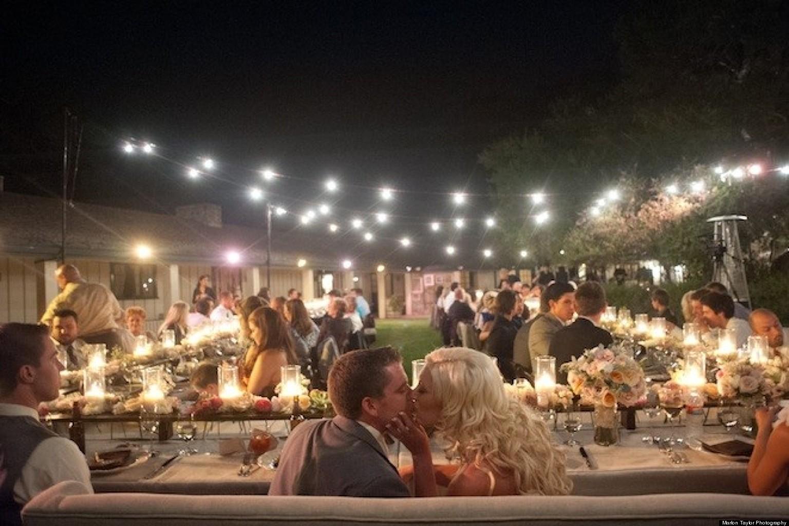 real wedding pretty pale pink california wedding