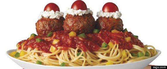 espagueti sundae