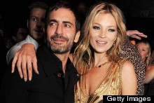 Kate Moss Is The Golden Girl At Her Book Launch Party