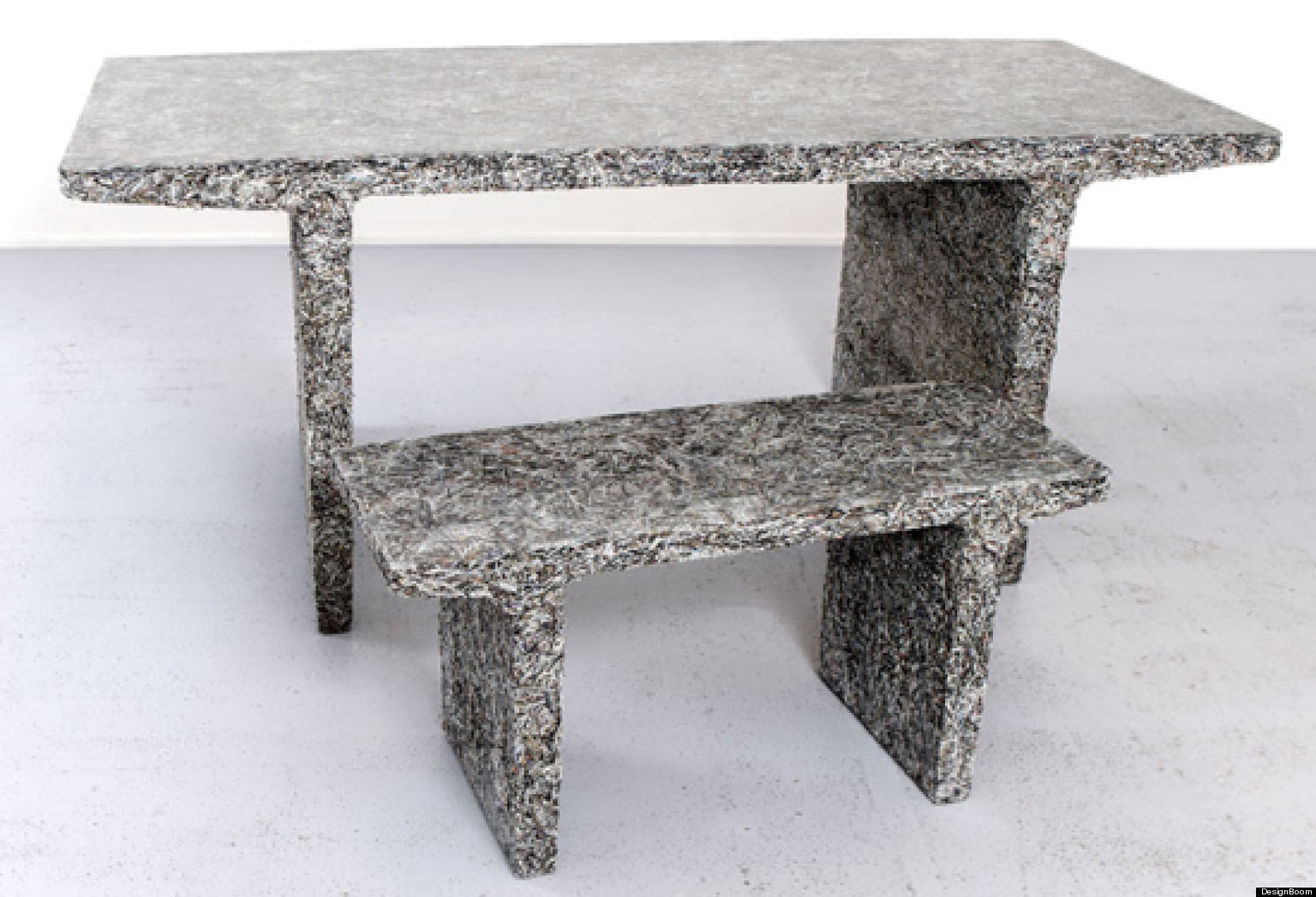 shredded magazine furniture by jens praet huffpost