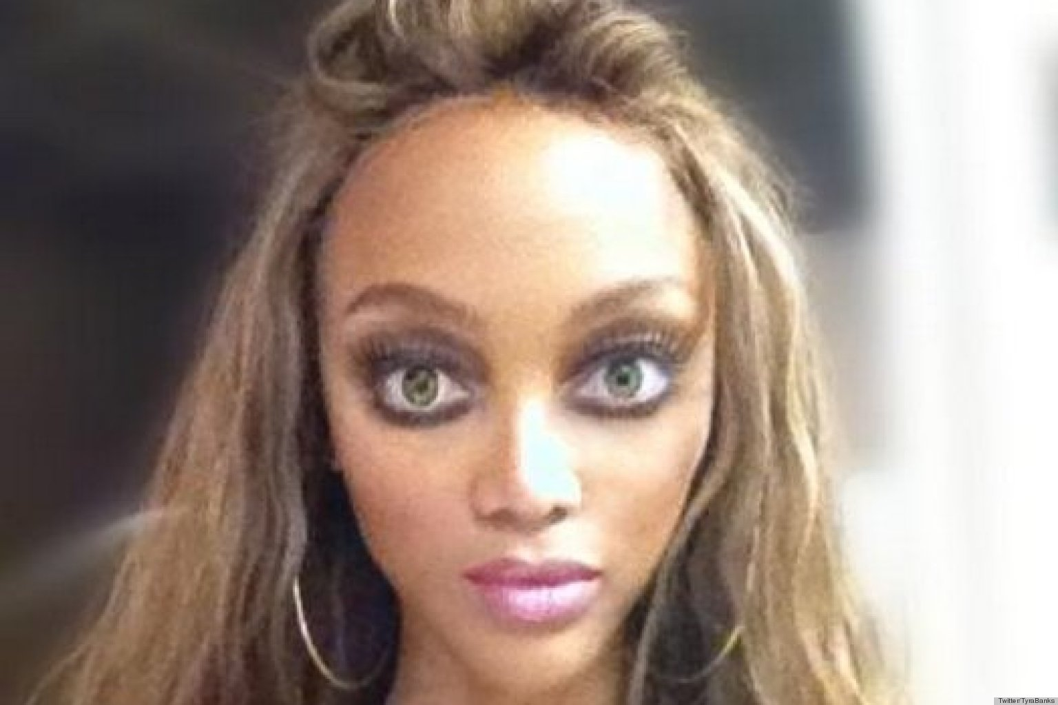 Buy Banks tyra smizing picture trends