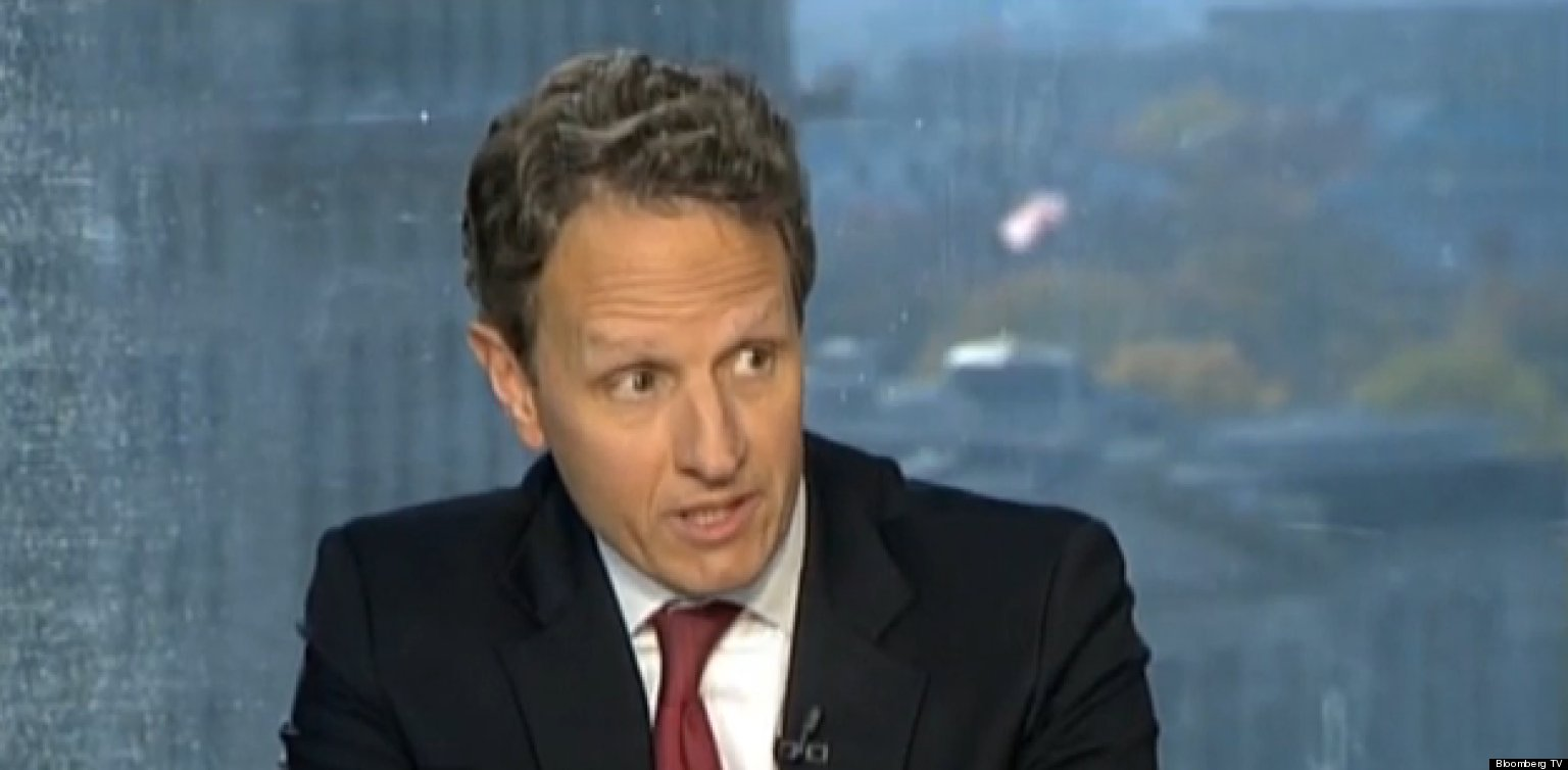 Is timothy geithner gay
