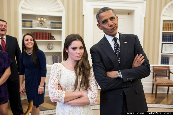obama mckayla maroney