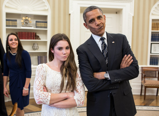 barack obama mckayla maroney