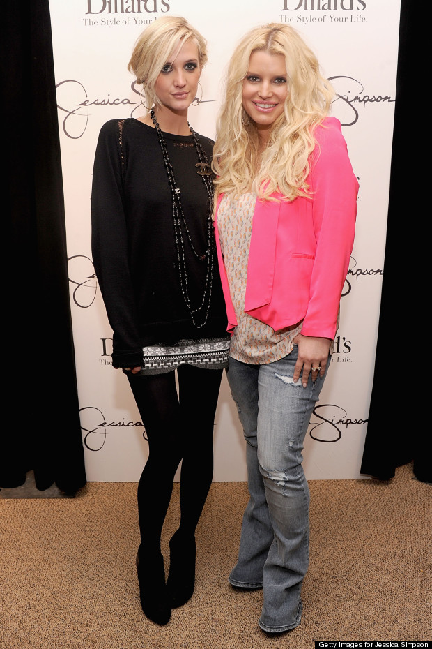 ashlee and jessica simpson