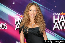 Mariah Carey Takes The Plunge At 2012 TeenNick Halo Awards