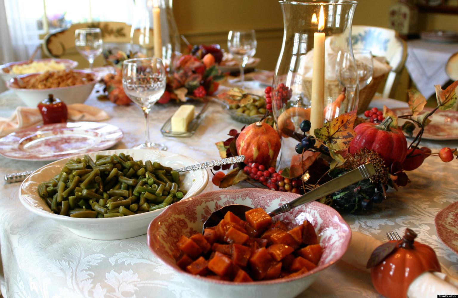 thanksgiving table dinner feast holiday healthy pagan shutterstock enjoy pic foods turkey sides holidays lashae keaira patheos through simple friendly