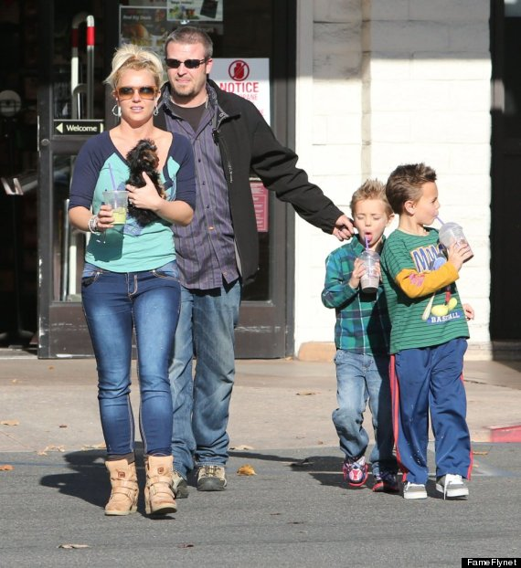 britney spears boys