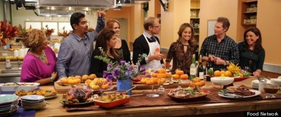 FOOD NETWORK THANKSGIVING