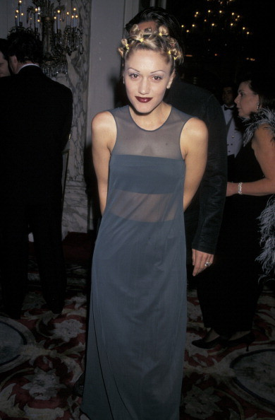 Gwen Stefani Rocked The Sheer Trend Back In The 39 90s Photo Huffpost