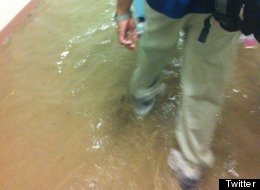 Surrey Hospital Flooding