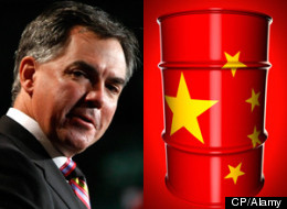 Jim Prentice Oil China