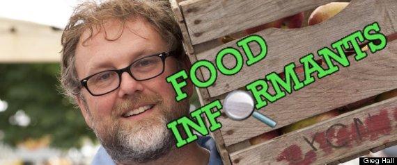 GREG FOOD INFORMANTS