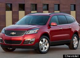 Mejores automóviles de la industria nacional: Chevrolet Traverse