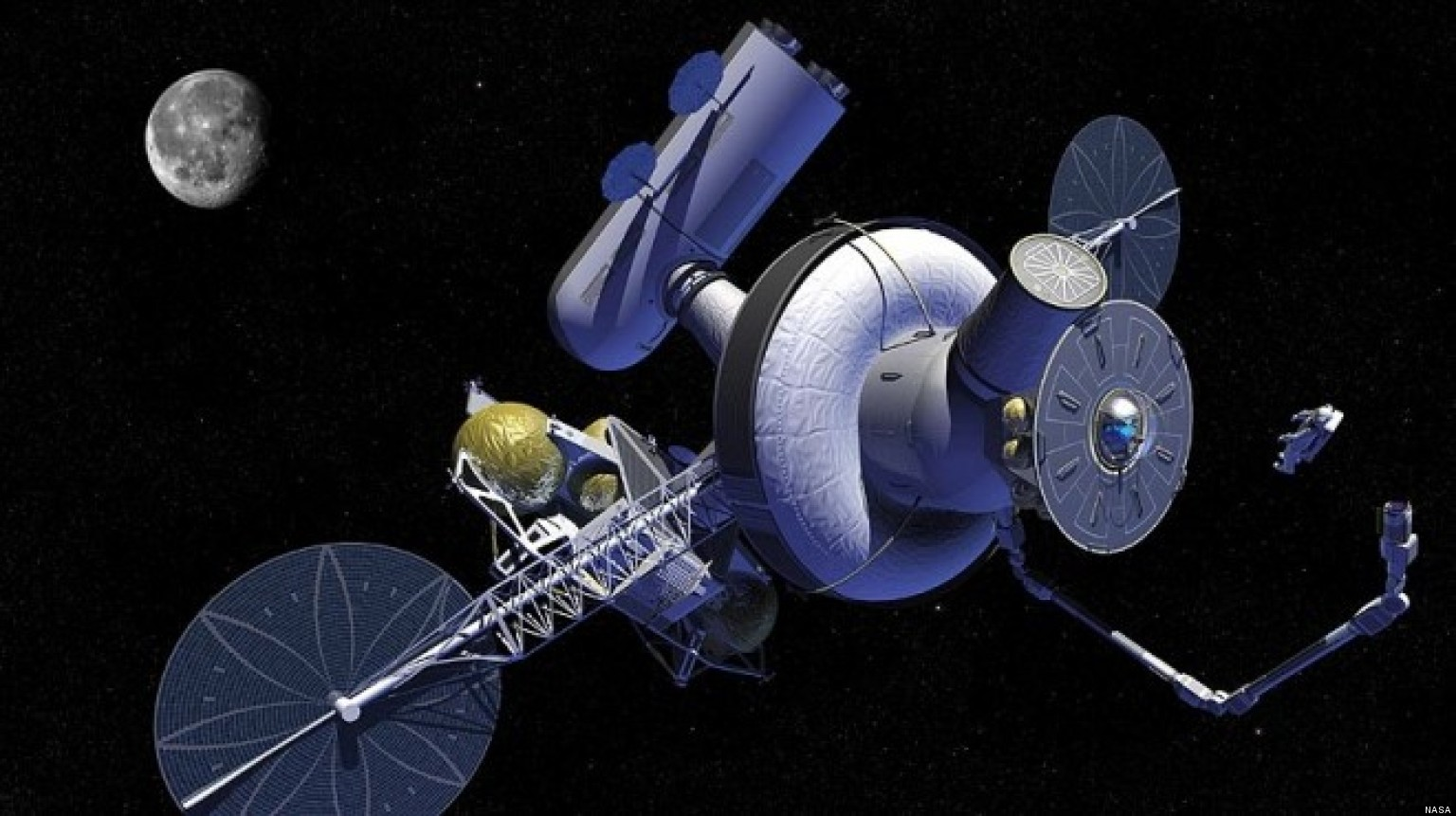 L-2 Outpost: NASA Considers Earth-Moon Way Station That ...