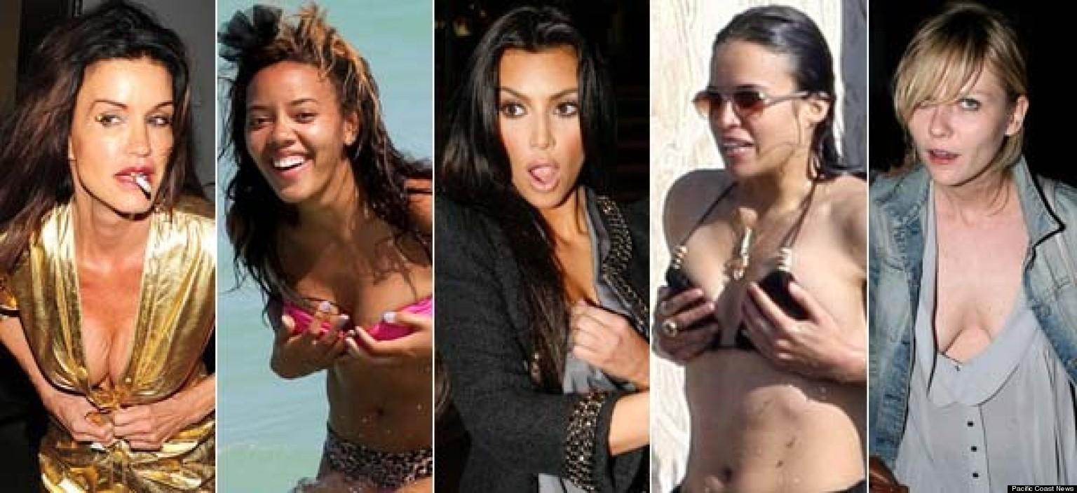 Celebrity Wardrobe Malfunctions, Bikini Mishaps And TMI ...  Celebrity Wardr...