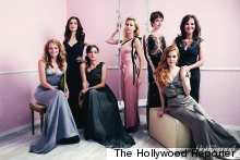Anne Hathaway And Rachel Weisz Glam Up For 'Actress Roundtable' Shoot With The Hollywood Reporter