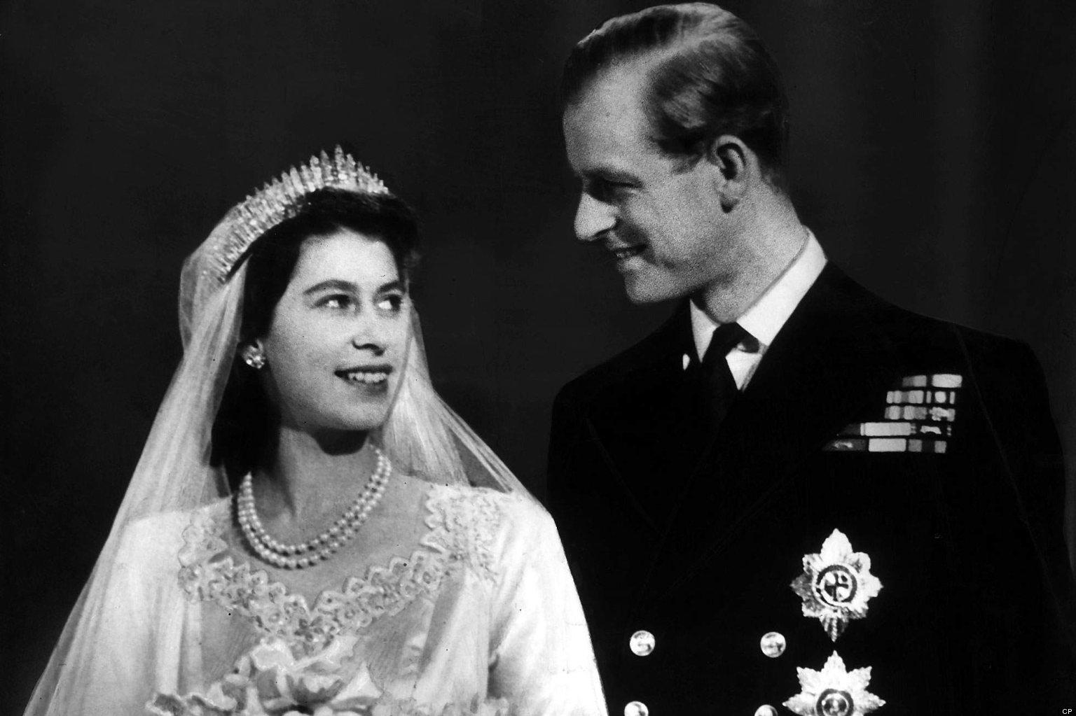 queen elizabeth prince philip celebrate 65th anniversary