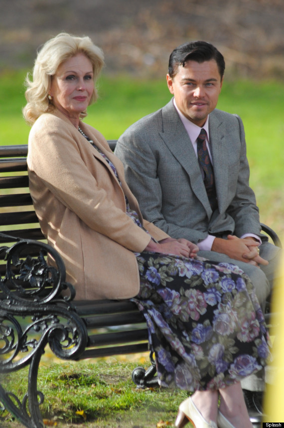 leonardo dicaprio and joanna lumley
