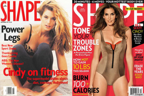 cindy crawford shape