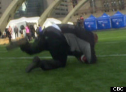 Rob Ford Fall Video