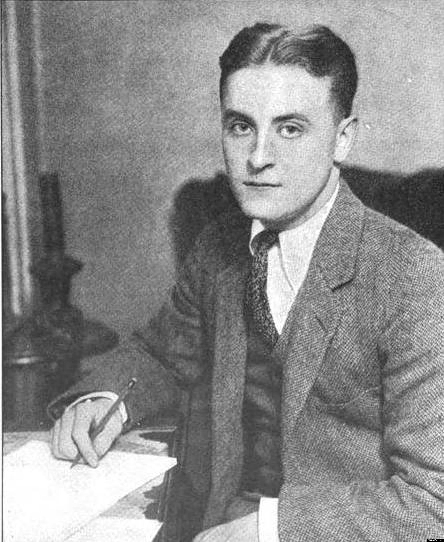 F  Scott Fitzgerald in His  F Scott Fitzgerald Young