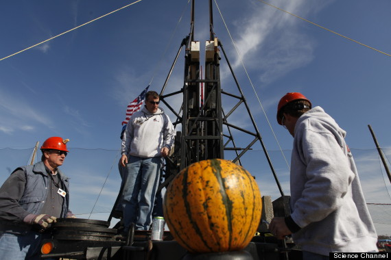 punkin chunkin science
