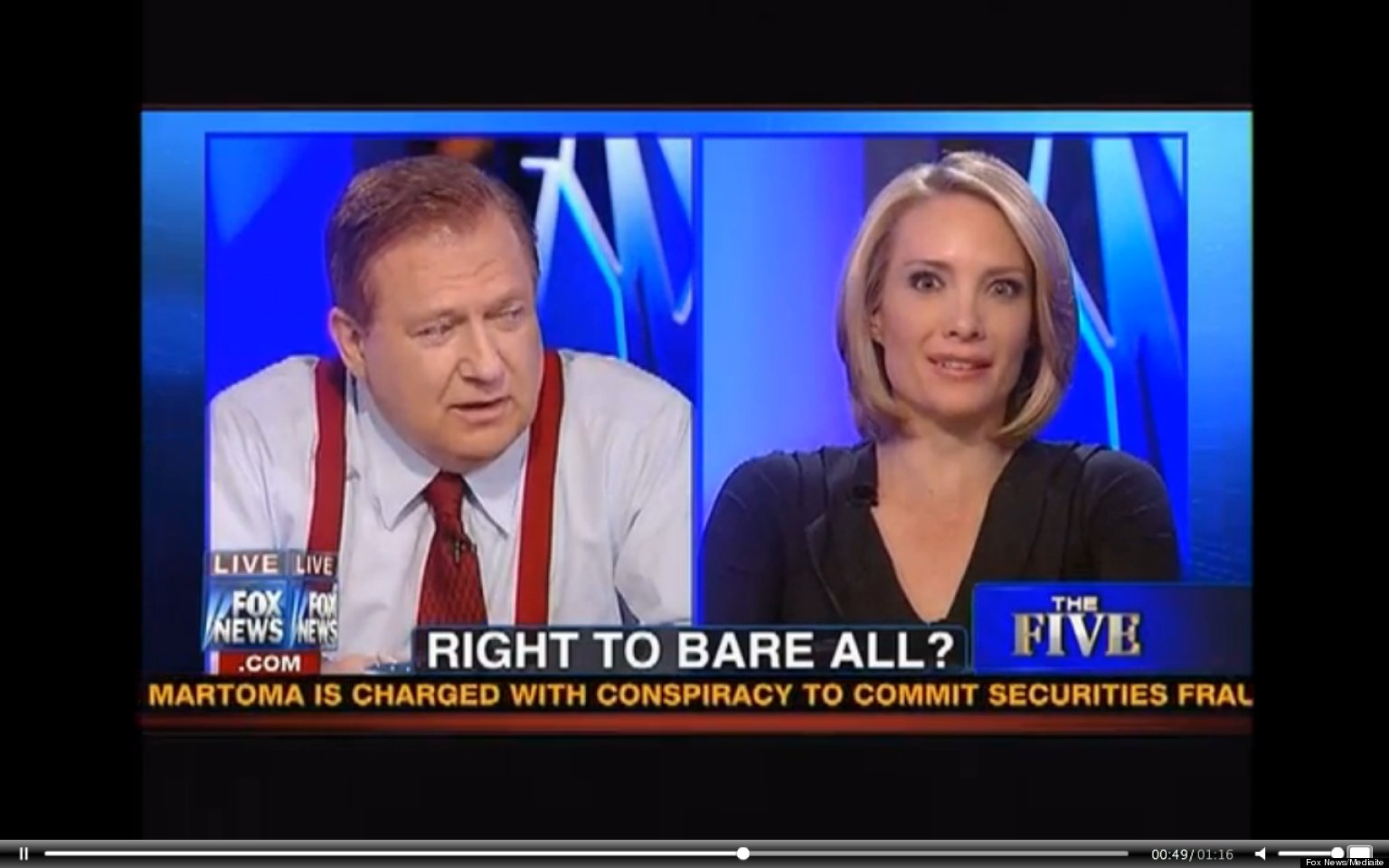 Bob Beckel: Fox News host says nudists probably gang