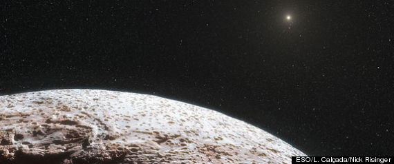 eris dwarf planet surface features - photo #12