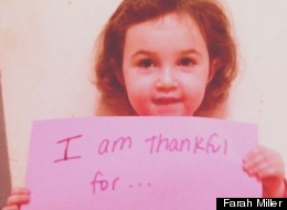 What Your Kids Are Thankful For