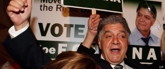 JOE FONTANA FRAUD CHARGE